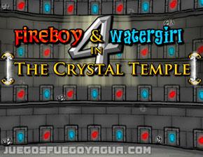 Fuego Y Agua 4 En El Templo De Cristal